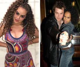 Rodger Corser et al. that are standing in a room: After falling in love alongside one another in the 1998 musical Rent, Rodger Corser and Christine Anu welcomed a daughter Zipporah together. Now 18, the talented performer is following in her famous parents' footsteps.