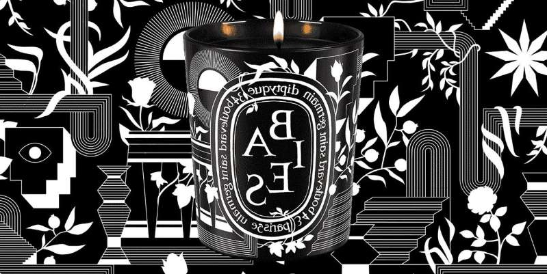 a close up of a book: From November 27 through November 30, Diptyque is selling its limited-edition Baies candle. Shop it here.