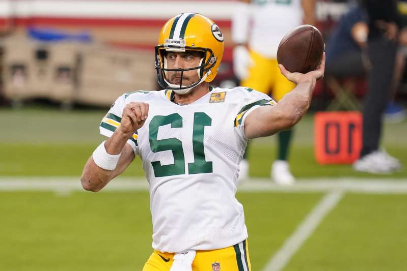 Sport Aaron Rodgers Can T Keep Up With All Of Philip Rivers Children Pressfrom Us