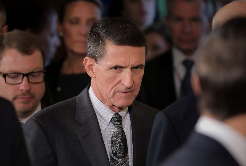 Michael T. Flynn wearing a suit and tie