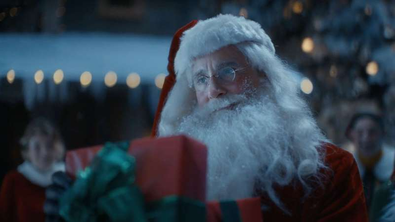Steve Carell saves Christmas as Santa Claus in Comcast's new holiday commercial.