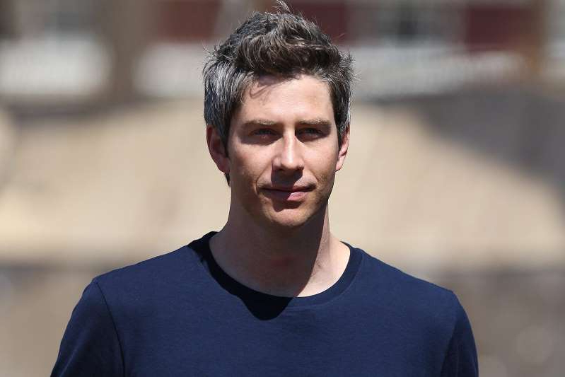 Arie Luyendyk, Jr. wearing a blue shirt: Paul Hebert via Getty Arie Luyendyk Jr.