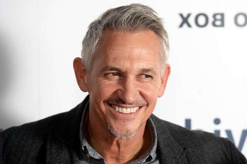 Gary Lineker smiling for the camera: LONDON, ENGLAND - NOVEMBER 14: Gary Lineker attends the World Premiere of 'Make Us Dream' at The Curzon Soho on November 14, 2018 in London, England. (Photo by Dave J Hogan/Dave J Hogan/Getty Images)