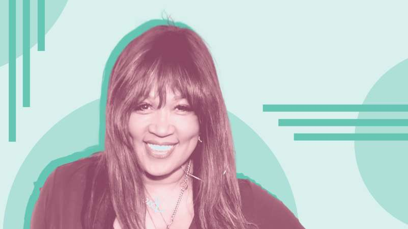 Kym Whitley smiling for the camera: Here's why she wants other women to start talking about urinary incontinence more often.