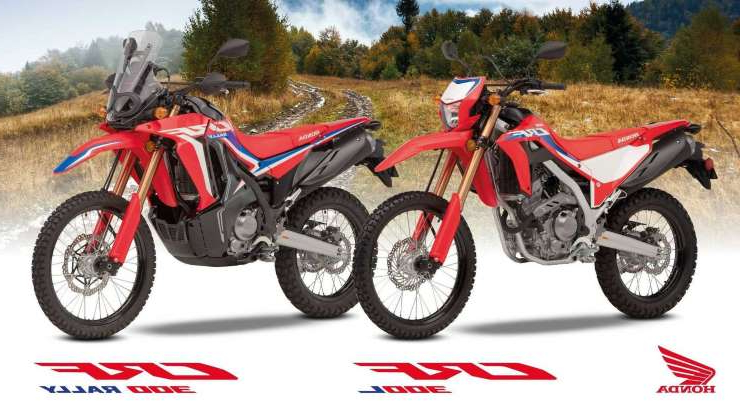 Slide 1 of 17: 2021 Honda CRF300L and CRF300 Rally