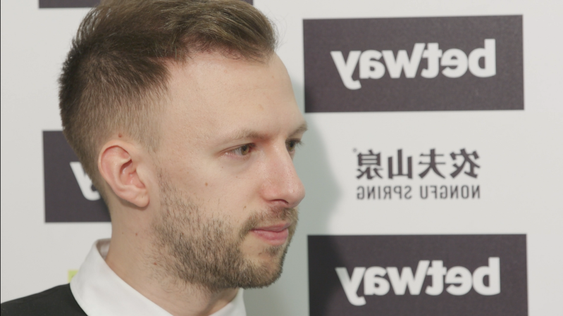 Judd Trump looking at the camera: Judd Trump has won the UK Championship title once before, having beaten Mark Allen in the final back in 2011