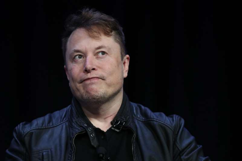 Elon Musk looking at the camera: SpaceX CEO Elon Musk pictured on March 9, 2020 in Washington, DC. Musk has shared a tweet appearing to partly blame Facebook for the U.S. Capitol riots.