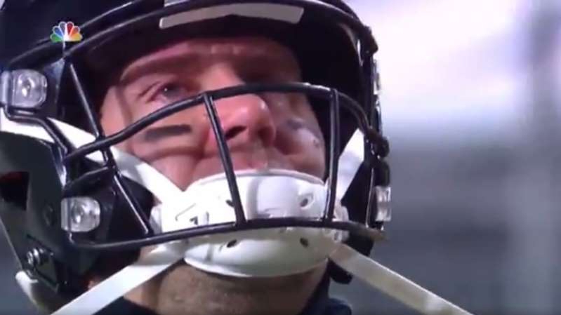 a close up of a person wearing a helmet: Ben Roethlisberger