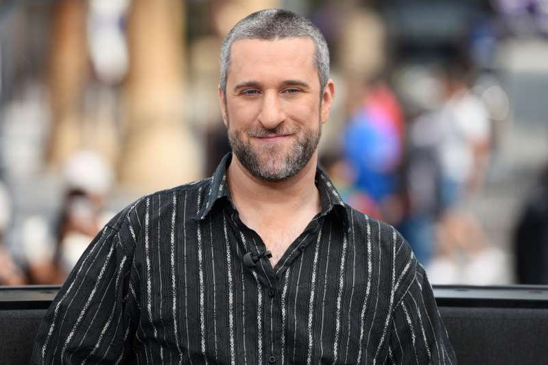 Dustin Diamond looking at the camera