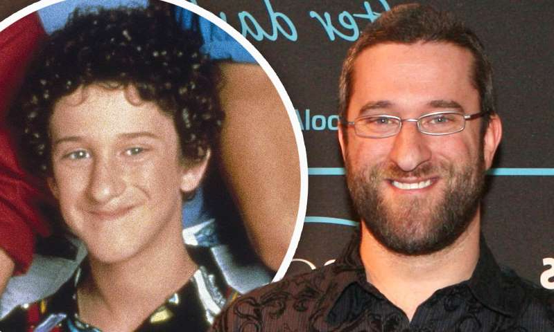 Dustin Diamond, Dustin Diamond are posing for a picture: MailOnline logo