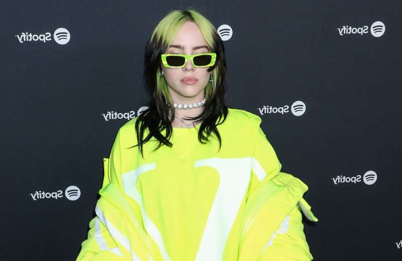 graphical user interface, application: Billie Eilish