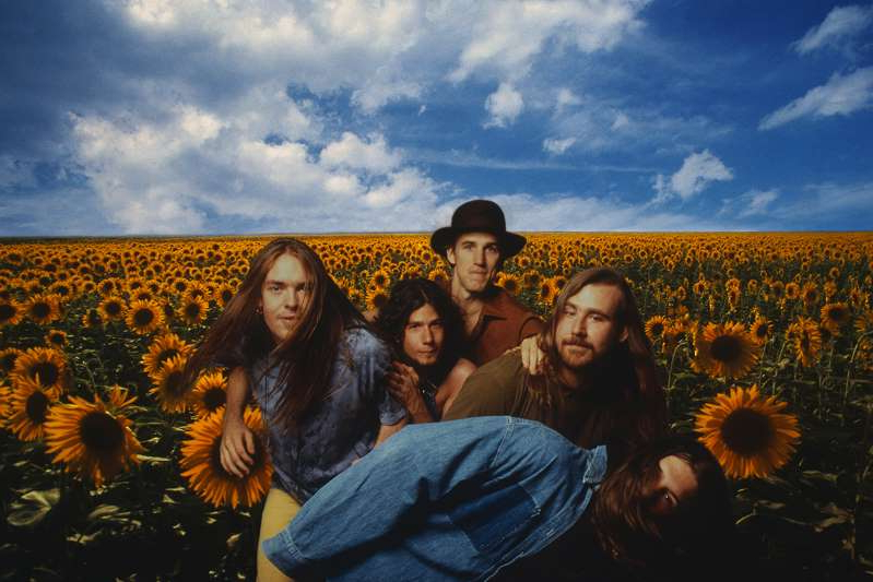 a group of people posing for the camera: Blind Melon