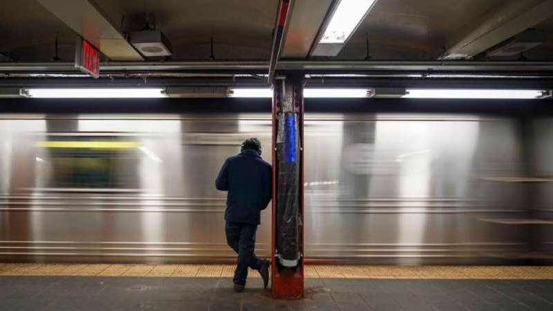 a person in a subway station: Two dead, two injured in NYC subway stabbings