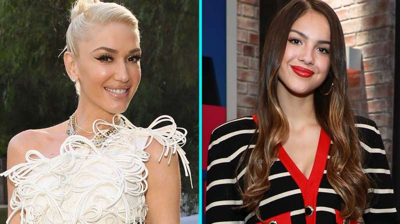 Olivia Rodrigo, Gwen Stefani are posing for a picture