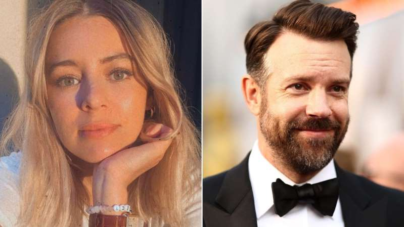 Jason Sudeikis and woman posing for a photo: Jason Sudeikis has been linked to Keeley Hazell.