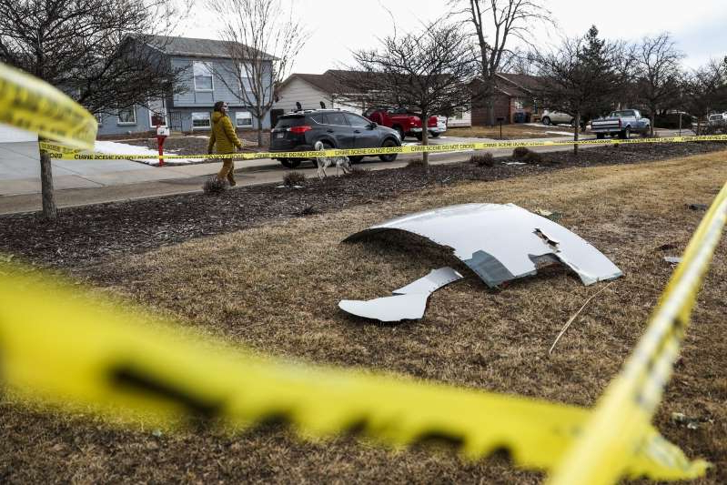 Boeing 777 Drops Debris Onto Denver Neighborhood After Engine Explosion