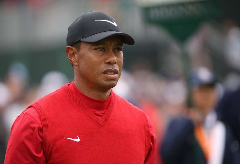 Tiger Woods wearing a hat: Image: Tiger Woods, U.S. Open - Final Round (Christian Petersen / Getty Images file)