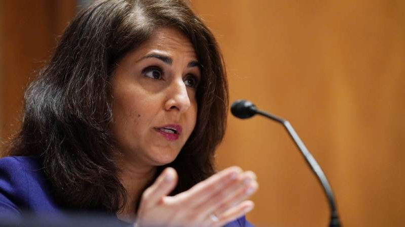 Neera Tanden looking at the camera: Shelby endorses Shalanda Young for OMB director should Biden pull Tanden's nomination