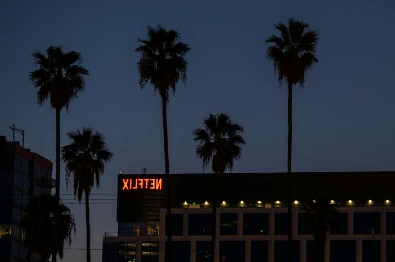 a palm tree in front of a building: Netflix could be the big winner at the Golden Globes this year