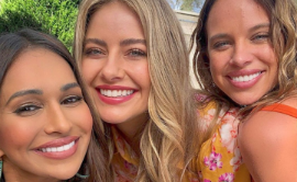 a close up of Bonnie Anderson, April Rose Pengilly posing for the camera: Neighbours star Sharon Johal has announced she will be saying good-bye to Ramsay Street in a lengthy and emotional essay.