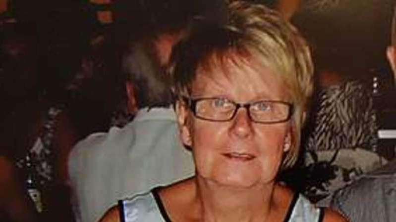 a man wearing glasses: Ruth Williams was killed by her husband during the first lockdown