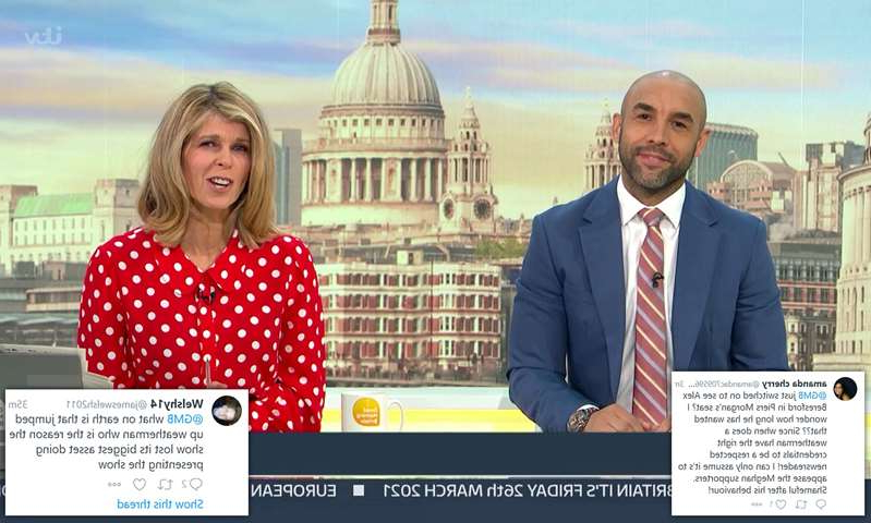 Alex Beresford, Kate Garraway are posing for a picture: MailOnline logo