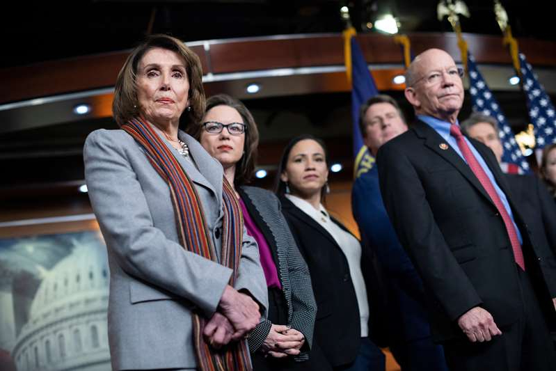Peter DeFazio, Nancy Pelosi posing for the camera: Rep. Peter A. DeFazio fought to keep the carrier out of the U.S. five years ago. So did House Speaker Nancy Pelosi.