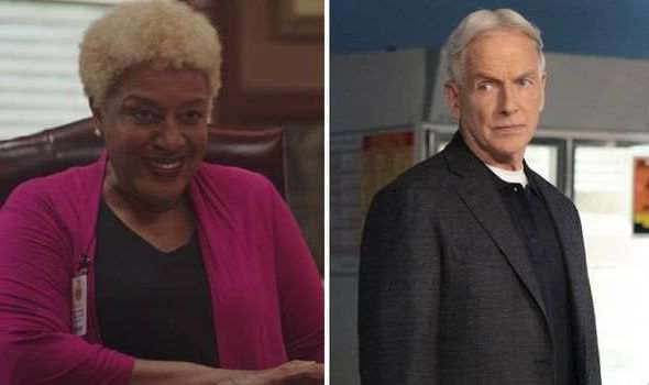 a man and a woman looking at the camera: NCIS Hawaii: jane tennant cast cbs