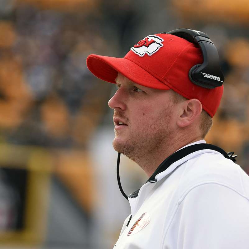 a man wearing a hat: Kansas City Chiefs v Pittsburgh Steelers