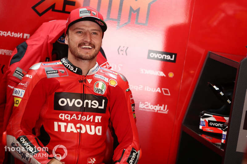 a man wearing a uniform: Jack Miller, Ducati Team