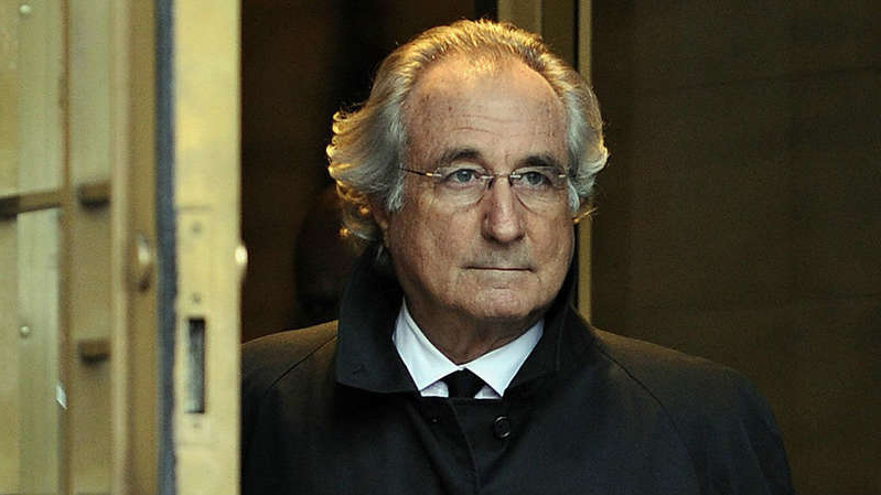 Bernard Madoff wearing a suit and tie looking at the camera: Madoff is dead, but his lessons should live on