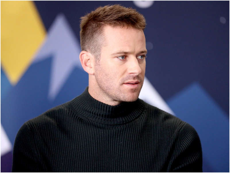 Armie Hammer looking at the camera: Armie Hammer has been dropped from multiple upcoming projects. Rich Polk/Getty Images for IMDb