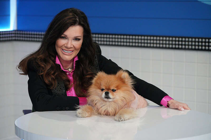 Lisa Vanderpump holding a cat: Christopher Willard via Getty