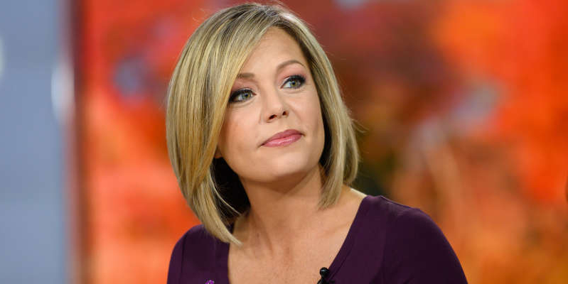 a close up of Dylan Dreyer