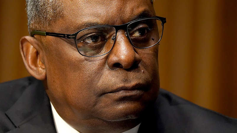 a close up of Lloyd Austin wearing glasses and looking at the camera: Congress demands answers on Afghanistan withdrawal