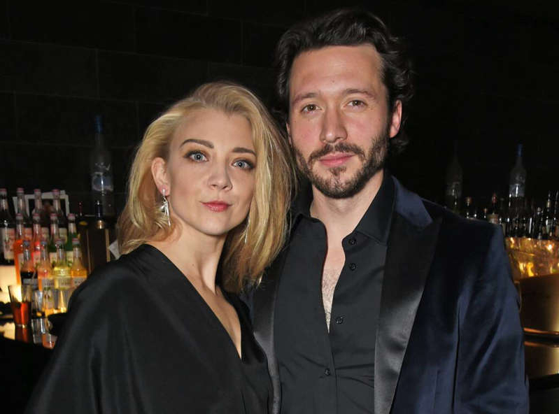 David Oakes, Natalie Dormer are posing for a picture: David M. Benett/Dave Benett/Getty Images