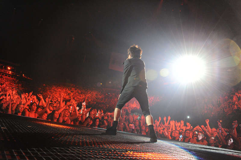 Indochine en concert.