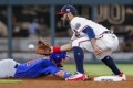 Kris Bryant - like Trout, Correa - suffers thumb injury, leaves game