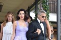 George and Amal Clooney Make Their First Public Appearance 3 Months After Welcoming Twins
