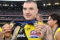 Dustin Martin speaks to deported father after GF