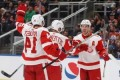 Mrazek, Red Wings shut out Oilers 4-0