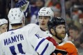 Flyers spoil milestone night for Maple Leafs' Marleau