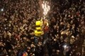 Watch: Eagles Fan Climb Hydraulic Fluid-Soaked Poles To Celebrate Super Bowl Win
