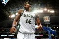 Giannis Antetokounmpo leaves TV crews geeked after freakish dunk