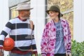 Katie Holmes and Jamie Foxx Spend Valentine's Day Playing Basketball
