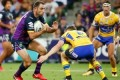 Cameron Smith issued with warning notice for elbowing incident