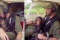 Rescued Baby Chimp Becomes a Co-Pilot as He Flies to Primate Sanctuary