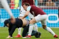 Furious West Ham fans invade pitch and fight with players over Burnley embarrassment
