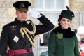 Kate Middleton and Prince William share rare PDA during St. Patrick's Day appearance