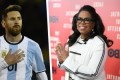 Oprah Winfrey advises Messi how to win World Cup
